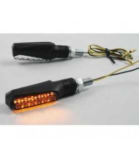 PAIRS LED CLEAR - LENS TURN SIGNAL ECE APPROVED
