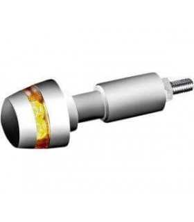 BL 2000 DARK LED BAR END INDICATOR CHROME APPROVED