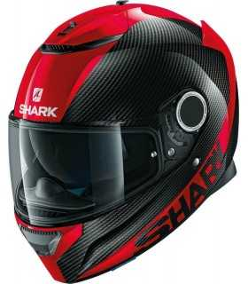 Shark Spartan Carbon Skin 1.2 red helm