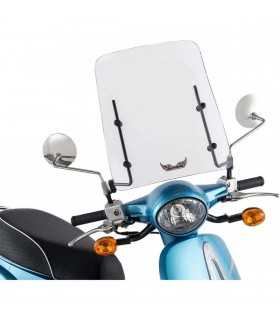 UNIVERSAL WINDSHIELD SCOOTER 30 MOUNTS MIRRORS
