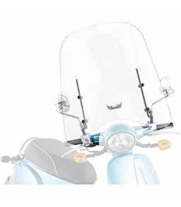 UNIVERSAL WINDSHIELD SCOOTER 50 MOUNTS MIRRORS