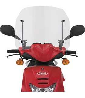 UNIVERSAL WINDSHIELD SCOOTER 66 MOUNTS MIRRORS