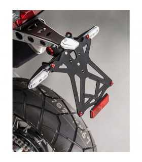 LIGHTECH PORTA TARGA REGOLABILE CON CATADIOTTRO HONDA X-ADV 750 (17) SBK_20419 LIGHTECH HONDA