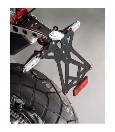 Lightech Adjustable License Plate Brackets With Retroreflector - Honda X-adv 750 (17)