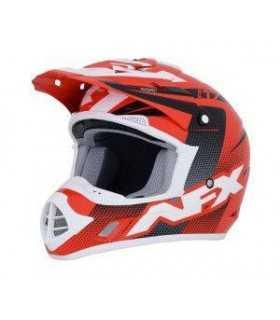 CASCHI MOTOCROSS ENDURO - Casco cross AFX FX-17 Holeshot rosso