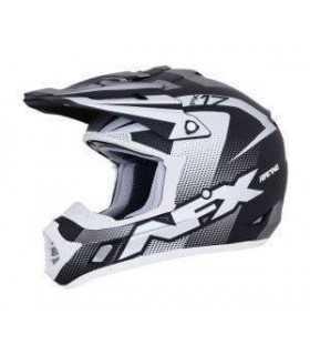 CASCHI MOTOCROSS ENDURO - Casco cross AFX FX-17 Holeshot grigio