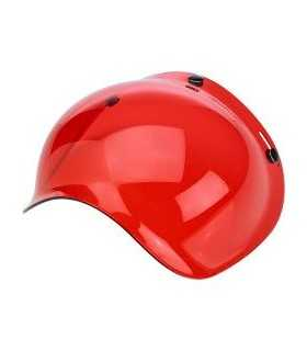 VISIERE PER CASCHI - BILTWELL visiera a bolla rosso