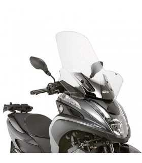 YAMAHA - Givi Parabrezza 2120dt + Attacchi D2120kit Yamaha Tricity 125-155 (14 -17)