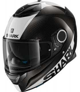 Spartan Helmet Shark Skin Carbon White