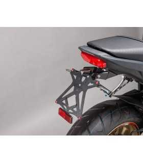 LIGHTECH PORTA TARGA REGOLABILE CON CATADIOTTRO HONDA CB650F (14-16)