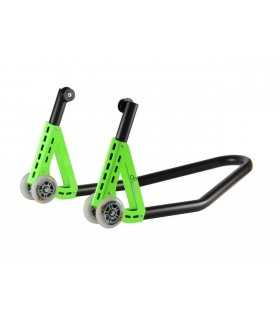 Lightech Aluminum Rear Stand With Forks Rsa23f green
