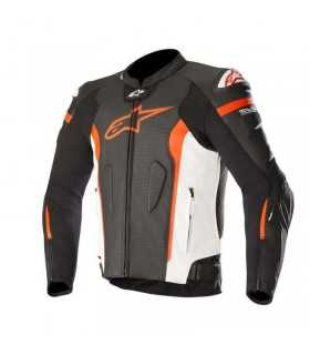 Alpinestars Missile Leather Jacket Tech-air Compatible red