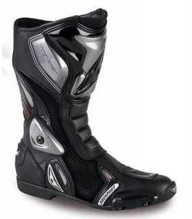 boots RACING PREXPORT SONIC PERFORATED BLACK
