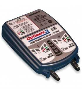 Optimate 3 per 2 batterie SBK_8336 TECMATE MANTENITORE / CARICA BATTERIE