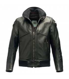 Blauer Thor Giacca in Pelle nero
