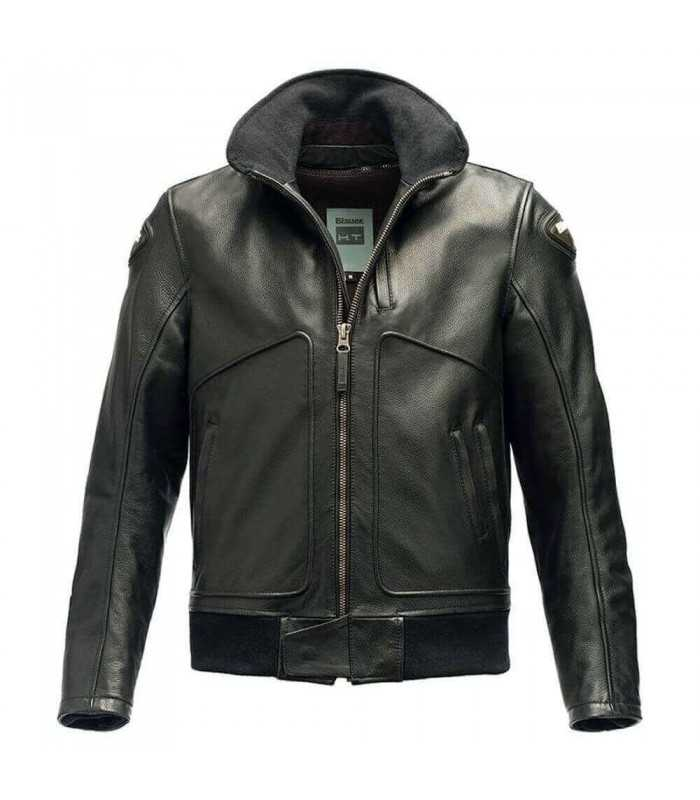 Pelle In Giacca Blauer Bike Super Thor Nero UZCBwR