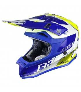 Just-1 J32 Pro Kick blu giallo SBK_22857 JUST1 CASCHI MOTOCROSS