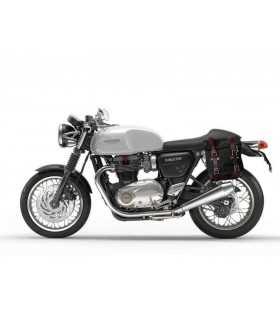 UNIT GARAGE BORSA LATERALE CANVAS + TELAIO TRIUMPH THRUXTON SX SBK_23507 UNIT GARAGE TRIUMPH