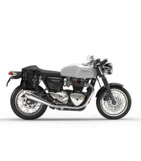 UNIT GARAGE BORSA LATERALE CANVAS + TELAIO TRIUMPH THRUXTON DX SBK_23508 UNIT GARAGE TRIUMPH