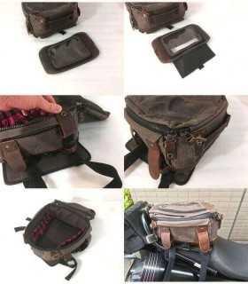 Burly magnetic Tank/Tail Bag BLACK