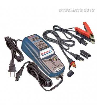 Optimate 4 caricatore-mantenitore batteria auto-moto-scooter canbus