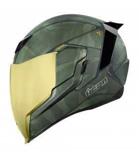 ICON AIRFLITE BATTLESCAR 2 - GREEN SBK_24331 ICON CASCHI INTEGRALI