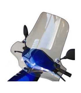 HONDA SCV 100 LEAD 2003-06 PARABREZZA BULLSTER TRASPARENTE 56CM SBK_24926 BULLSTER PARABREZZA E CUPOLINI MOTO / SCOOTER
