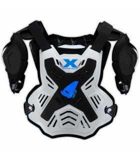 Ufo Pettorina X-concept Con Spalle bianco blu SBK_25267 UFO Protezioni Motocross