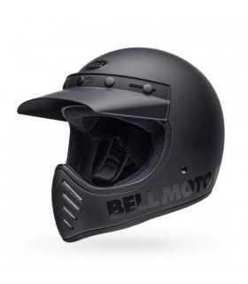 Bell Moto-3 Classic nero opaco SBK_25447 BELL CASCHI INTEGRALI