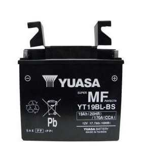 BATTERIA YUASA YT19BL-BS 12V 188 MM X 78,74 MM X 168 MM SBK_25547 YUASA BATTERIE MOTO