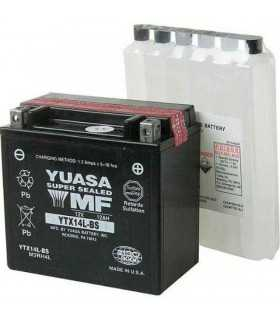 BATTERIA YUASA YTX14L-BS 12V 150 MM X 87 MM X 145 MM SBK_25552 YUASA BATTERIE MOTO