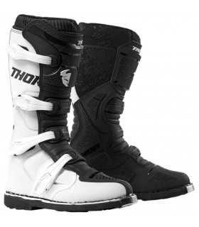 THOR BLITZ XP WHITE/BLACK SBK_25899 THOR Stivali Motocross