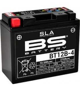 BS BT12B-4 SLA BATTERIA SBK_26156 BS BATTERY BATTERIE MOTO