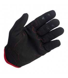 Biltwell guanti estivi moto nero/rosso SBK_26199 BILTWELL GUANTI MOTO ESTIVI