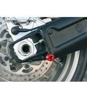 Evotech Nottolini per supporto cavalletto posteriore modello M8B rosso SBK_8893 EVOTECH EVOTECH ACCESSORI