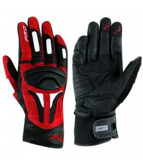 A-Pro leather glove Firepower red