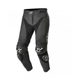 Pantaloni In Pelle Alpinestars Track V2 Nero