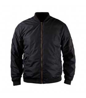 JOHN DOE FLIGHT JACKET NERO