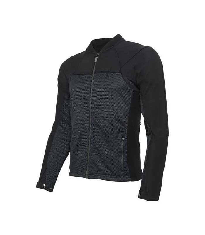 2f024b6b9 KNOX ZEPHYR PRO SUMMER MOTORCYCLE JACKET BLACK