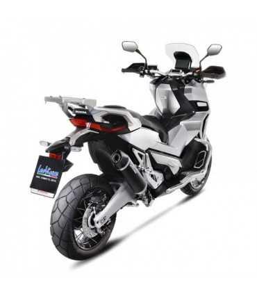 LEOVINCE Honda X-ADV NOIR Inox Black CH - Slip-On - Endcap Carbon