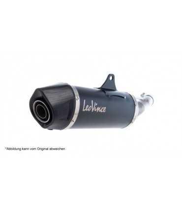 LEOVINCE Honda X-ADV NERO Inox Black CH - Slip-On - Endcap Carbon