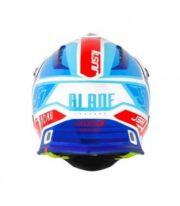 Just-1 J38 Blade Blue red white