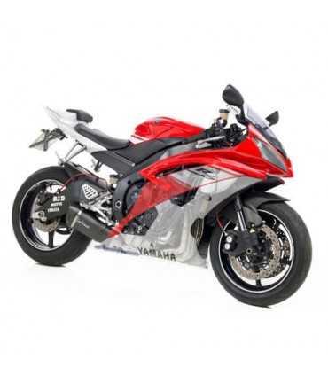 Leovince Yamaha YZF-R6 Factory S Carbon CH+KAT Full System 4/2/1 Endcap Carbon