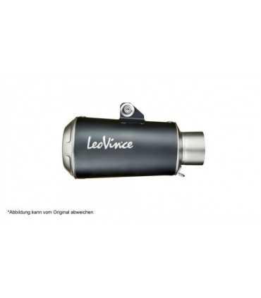 Leovince Benelli Leoncino / Trail LV-10 Inox Black CH - Slip-On
