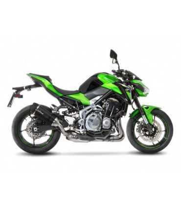 Leovince Kawasaki Z900 FACTORY S Carbon CH - Slip-On - Endcap Carbon