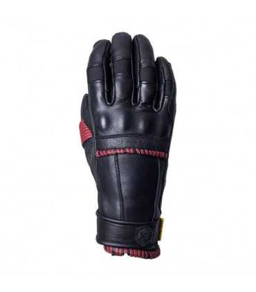 KNOX WHIP ARMOURED GLOVES BLACK/OXBLOOD LADY