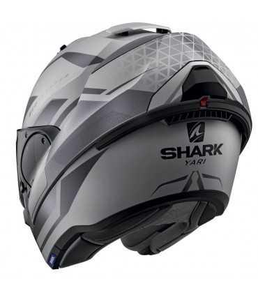 Shark Evo Es Yari Mat silver