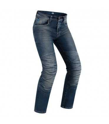 Pmj Vegas Motorrad Jeans mit Kevlar mittlere Farbe
