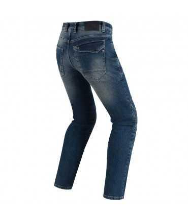 Jeans moto Pmj Vegas con Kevlar colore medio