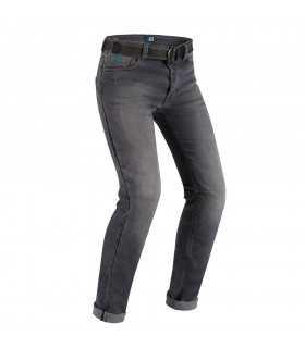 Pmj Cafe Racer Legende grau Motorrad Jeans